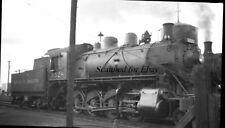 Canadian Pacific #3528 Steam 1950s ORIGINAL NEGATIVE-Railroad