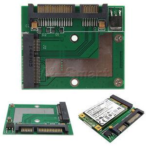 Blue /Green Board Mini PCI-e MSATA To 2.5inch SATA Adapter Converter Card Module