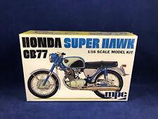MPC Honda Super Hawk CB77 1:16 Scale Plastic Model Kit 898 Factory Sealed Box