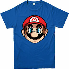 SUPERMARIO T-Shirt, SUPER MARIO FACE Gaming Gift Unisex Adult & Kids Tee Top
