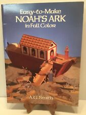 Noah`s Ark Paper Cut Out Easy To Make Bible School Home School