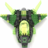 *No Minifigs, Jet ONLY* Lego DC GREEN LANTERN JET VS SINESTRO 76025 Set