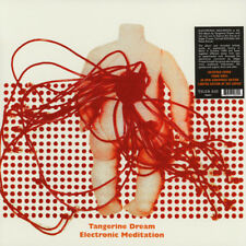 Tangerine Dream ELECTRONIC MEDITATION 180g LIMITED EDITION New Colored Vinyl LP