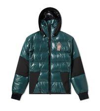 Moncler Jacket Grenoble Green Down Gollinger Puffer Jacket Size 4