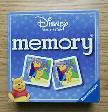 "Disney ""Winnie the Pooh"" Memory  Ravensburger COMPLETE MEMORY GAME"