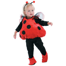 Infant LADYBUG Halloween Costume Size 1-2yrs (12-24m) NO WINGS