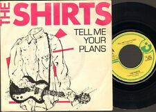 """SHIRTS Tell me your Plans SINGLE 7"""" 1978 CYRINDA Annie Golden"""