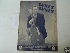 1951 NO 95 TUNEY TUNES MUSIC EDDY CHRISTIANI COVER,DE CHICO'S,LANZA,GARDNER,MASO