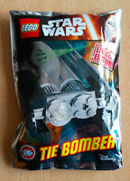 LEGO SET star wars POLYBAG FIGURINE MINIFIG NEUF TIE BOMBER  EDITION LIMITÉE