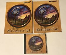 Microsoft Asheron's Call (PC, 1999) w/ Instruction Manual and Map