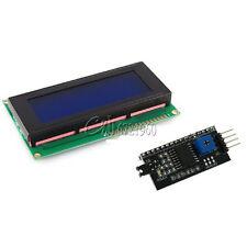 IIC/I2C/TWI/SPI Serial interface Board Module+2004 20x4 LCD Blue Display module
