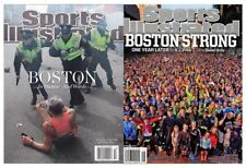 Lot of NEW 2 Sports Illustrated Boston Marathon Bombing 2013 2014 No Label