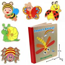 Learning Toy Kids Toy Book Puzzle for Toddlers Educational Toy - Insects