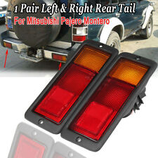 2 PCS Car Left & Right Rear Tail Lights Lamp For Mitsubishi Pajero 92-99 Montero