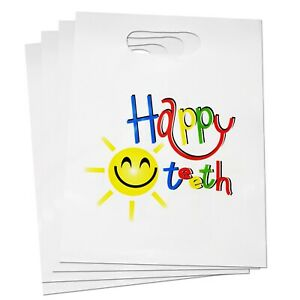 Happy Teeth Bags ~ Childrens Dental Care Essentials Toothbrush Storage School