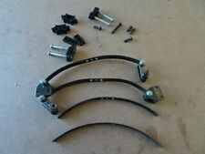 TAMIYA FORD F350 HILUX FRONT LEAF SPRINGS AND SHACKLES x2 FREE UK POST