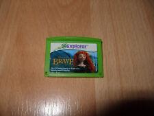 Leapfrog Explorer DISNEY BRAVE LeapPad 1 2 3 Ultra Platinum ultra book Game Cart