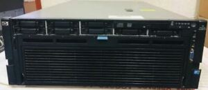 "HP Proliant DL580 G7 4x Ten-Core E7-8870 2.4GHz 128GB RAM 8x 2.5"" HDD Bay Server"