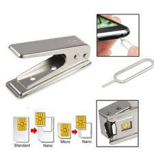 Dual Standard Cut 2 In 1 Cutting Adapters Regular Nano SIM Card Cutter Micro