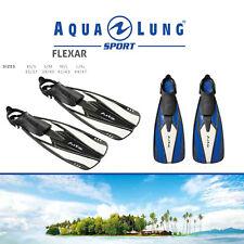 Aqua Lung Sport Flexar Snorkel Fins Flippers Sizes 35-47 Snorkeling Swim Dive