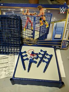 WWE HALL OF FAME CLASSIC STEEL CAGE RING WWF PLAYSET TARGET Exclusive.
