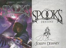 JOSEPH DELANEY Signed Hardback Book THE SPOOKS DESTINY COA