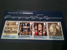 QE11 2010 MNH MS3053 KINGS AND QUEENS MINI SHEET STAMPS