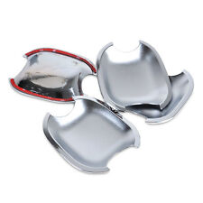 4X Chrome Door Cup Bowl Handle Cup Cover Set for Toyota Camry Highlander 4Runner