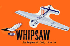 "Model Airplane Plans (UC): Ambroid WHIPSAW 31"" Stunt-Combat for .09-.19 Engine"