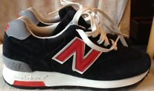 New Balance 1400 Connoisseur Black Suede & Red Men's Shoes Sz 5D Made In USA