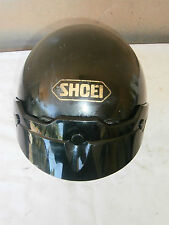 Shoei RJ-101 V open face Motorcycle helmet size small Black