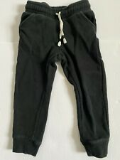 Cat & Jack Toddler Girls Black Joggers Sweat Pants Size 3T