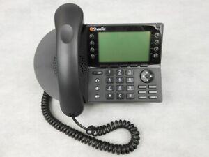 ShoreTel IP 480 IP480 VoIP PoE Backlit Display Black Office Phone