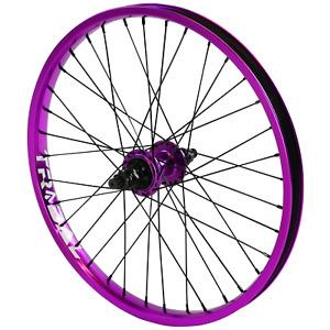 "Tribal BMX Rear Wheel 20"" Rim - 9 Tooth Cassette Hub - Purple"