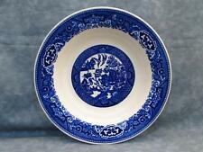 "Blue Willow by Royal Jackson 8-3/8"" Bowl Blue Design Birds L43"