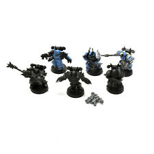 CHAOS SPACE MARINES chosen with lord #2 40K dark vengeance