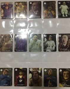 Austin Powers Complete Set Of 25 Tags-Tazo's All In Mint Condition