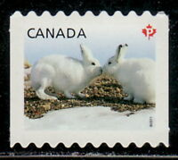 Canada #2426ii Baby Wildlife : Arctic Hare Die-Cut to Shape MNH