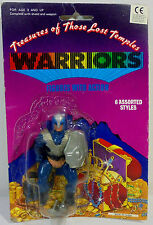 TREASURES OF THOSE LOST TEMPLES VTG 80's WARRIORS MOTU 4'' ACTION FIGURE MOSC C