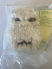 Abominable snowman McDonalds happy meal Mattel Mighty Max toy sealed in bag