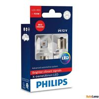 PHILIPS X-tremeUltinon P21W LED car signalling bulb Red intense 12898RX2 Set