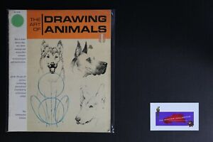 💎ART BOOK GRUMBACHER LIBRARY THE ART OF DRAWING ANIMALS💎