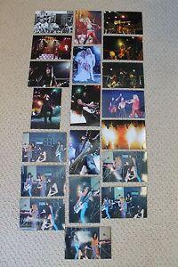 MOTLEY CRUE 20 PHOTOS 1981-2008 NIKKI SIXX NEIL MARS LEE FINAL TOUR The Dirt