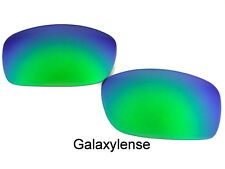 Galaxy Replacement Lenses For Oakley Fives Squared Sunglasses Emerald Green