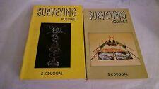 Surveying Volumes 1 & 2 by S K Duggal 1996 Paperbacks