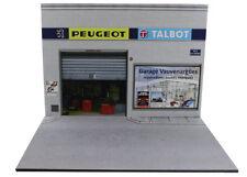 Diorama Garage Peugeot Talbot - 1/18ème - #18-2-f-f-006