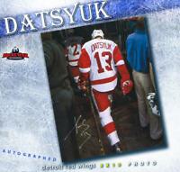 PAVEL DATSYUK Signed Detroit Red Wings 8x10 Photo - 70372