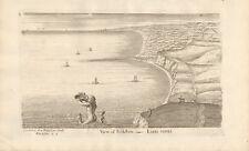 Seascape Folkestone by Joseph Mallord Turner Giclee Reproduction on Cavas
