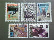 Guatemala Scott #C675-9 used Wildlife