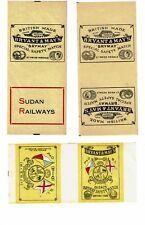 3 Old Bryant & May 19600s matchbox labels Shipping Line P&O BI, Ark etc